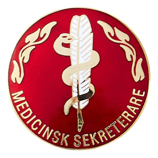 Vårdbrosch 168 MEDICINSK SEKRETERARE  Everand Webbshop
