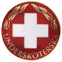 Vårdbrosch 105. UNDERSKÖTERSKA