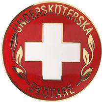 Vårdbrosch 114. UNDERSKÖTERSKA / SKÖTARE