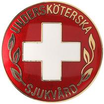 Vårdbrosch 100. UNDERSKÖTERSKA / SJUKVÅRD