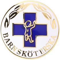 Vårdbrosch 146. BARNSKÖTERSKA