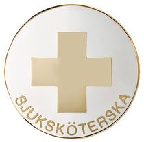 Vårdbrosch 108 SJUKSKÖTERSKA