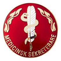Vårdbrosch 168 MEDICINSK SEKRETERARE