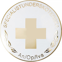 Vårdbrosch 195 specialistundersköterska An/Op/Iva