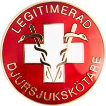 Vårdbrosch 125 LEGTIMERAD DJURSJUKSKÖTARE